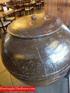 Korean giant clay jar
